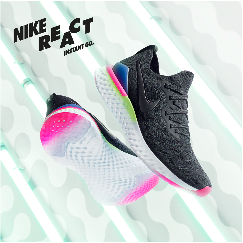069ac1039 Nike Epic React Flyknit 2. I runner hanno chiesto una scarpa ...