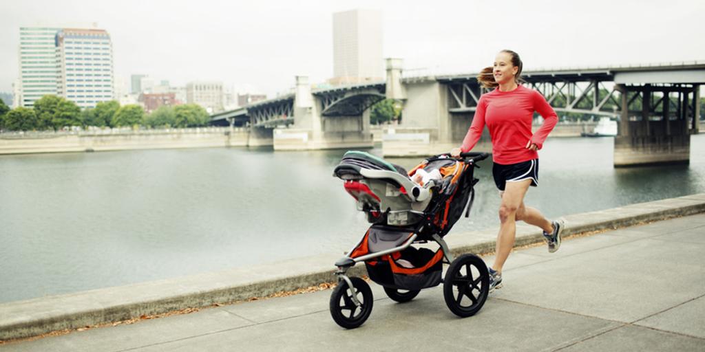 sport mamma running