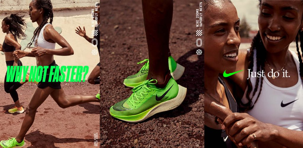 Dibaba Sisters shoes